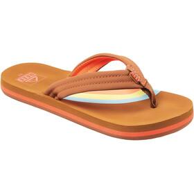 Reef Ahi Sandals Girls, rainbow